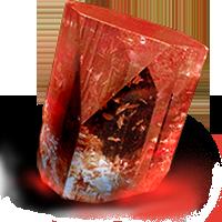 Артефакт рубиновый
